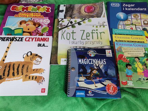 Książki dla dzieci w wieku 6 +