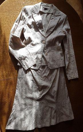 Żakiet + spódnica r.36