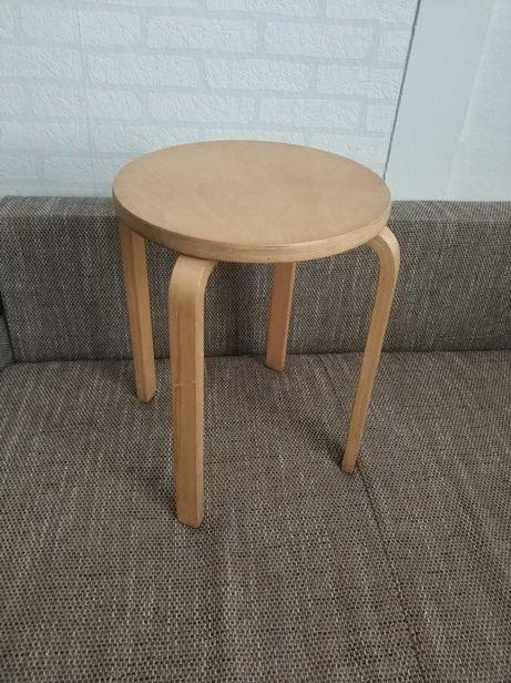 Krzesło, Stołek, Taboret drewniany biały, hooker, barowe, kuchenny