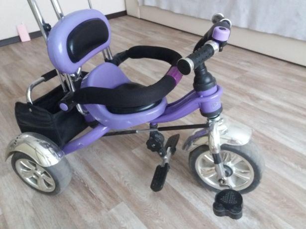Трёхколёсный велосипед Profi Trike с родительской ручкой