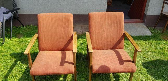 Fotele PRL , krzesła