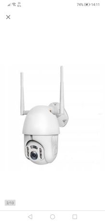 Zewnętrzna Obrotowa Kamera IP WIFI FULL HD 2 Mpix + karta microSD 16GB