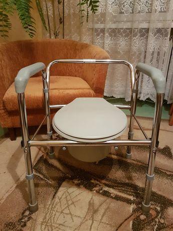 Krzesło toaletowe Timago regulowana wysokość stan idealny