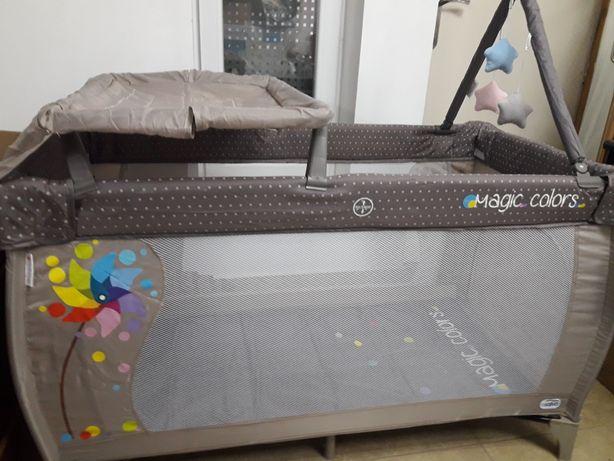 Детская тревел кроватка манеж Asalvo