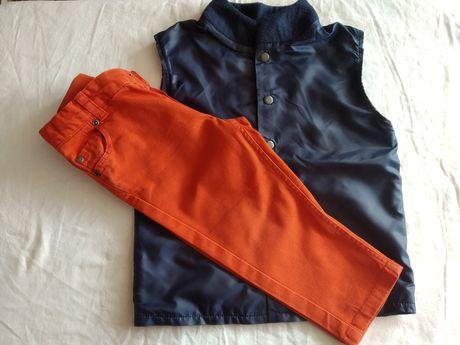 Моднячі джинси,жилетка та комбинезон