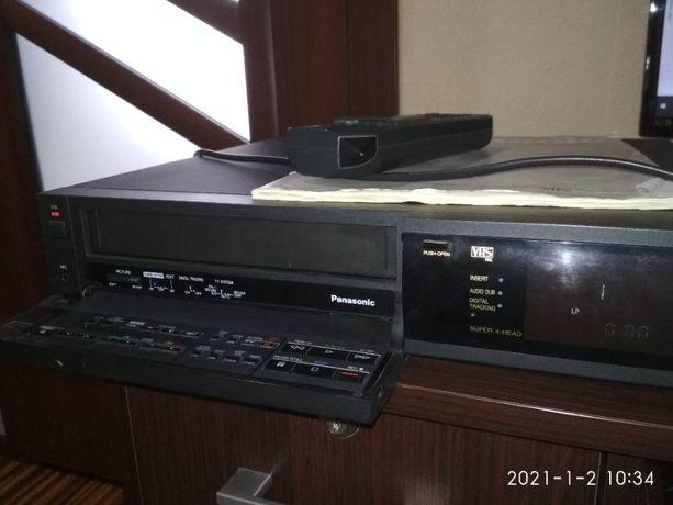 Magnetowid Odtwarzacz VHS Panasonic NV-J35EE