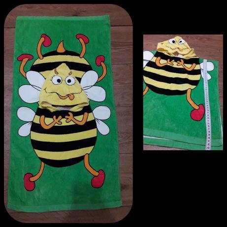 Пляжное полотенце пончо
