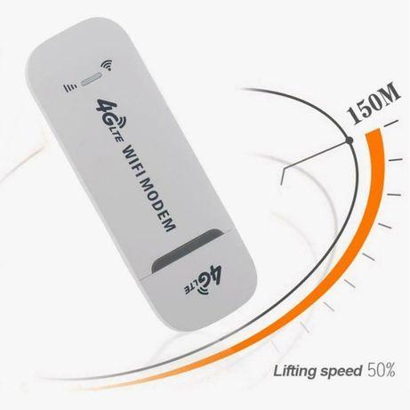 PEN 4G USB Wi-Fi Modem - Router - Novo - Desbloqueado
