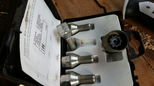 Śruby adapter przejściówka opel
