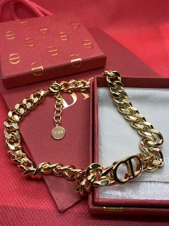 Чокер+браслет в стиле Christian Dior!