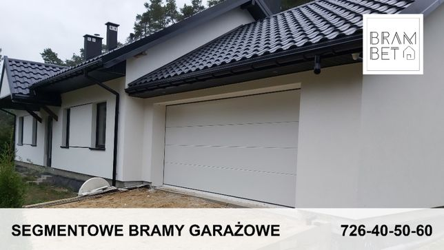Segmentowa Brama Garażowa - Gdańsk