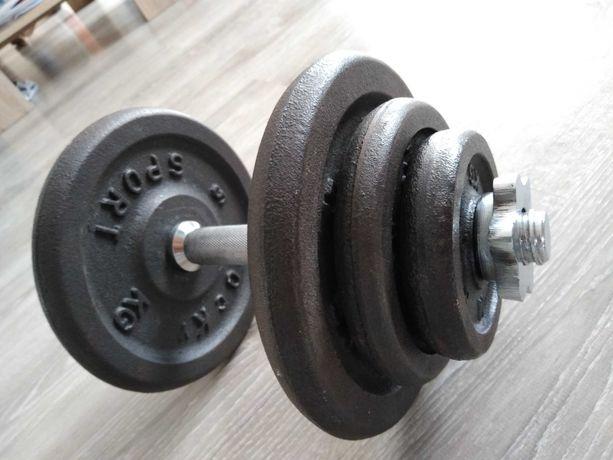 Hantla żeliwna 20 kg