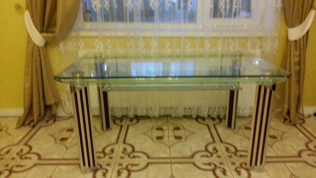 Стол стекляный разборный