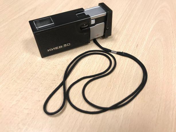 Rosyjski miniaturowy kolekcjonerski aparat fotograficzny Kijew 30.