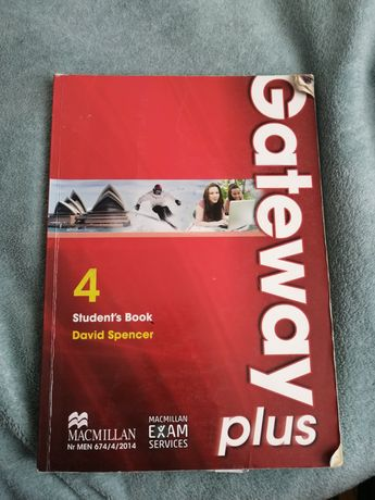 Książka do angielskiego Gateway 4 szkoła średnia