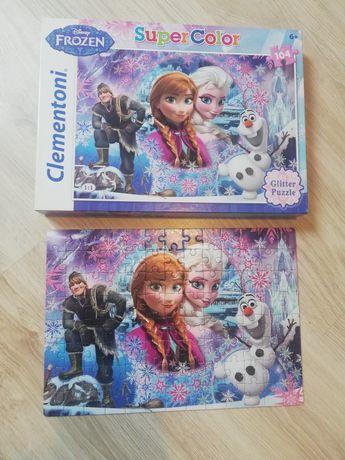 Puzzle Frozen super color 104 elem.