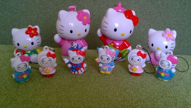Hello Kitty (Хэлло Китти), пластиковые игрушки-миниатюры