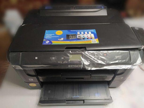 Принтер Epson WorkForce WF-7210DTW с СНПЧ