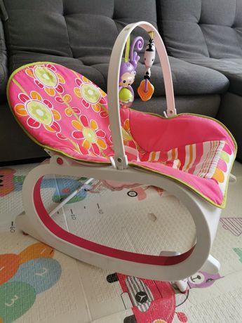 Детское кресло-шезлонг Fisher-price.Качалка С вибрацией.