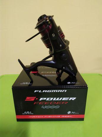 Набір Леска Kingfisher + Катушка Flagman S-Power Feeder 4000