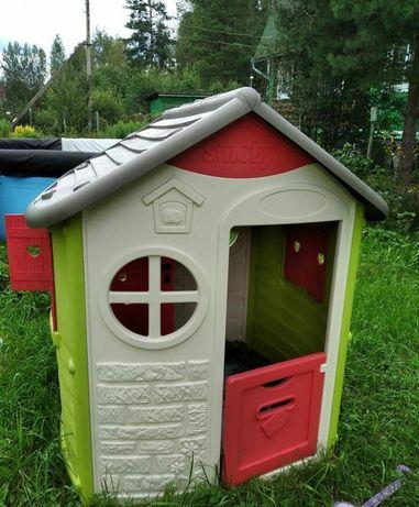 Как новый игровой дом домик детский фирмы smoby  смоби