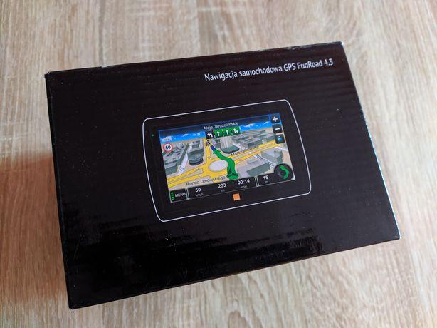 Nawigacja samochodowa GPS FunRoad 4.3 NOWA