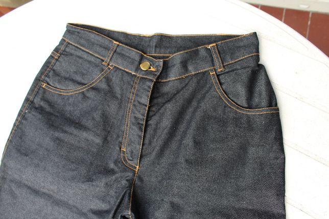nowe czarne jeansy rozm 38 z wysokim stanem Lalique