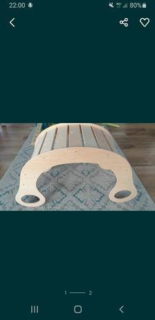 Nowy bujak drewniany xxl