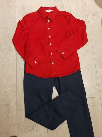 Koszula i spodnie roz.  134/140