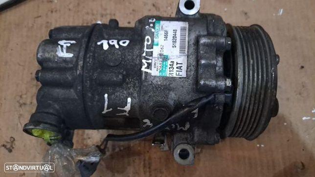 Compressor Ar Condicionado A/C ALFA ROMEO MITO Ref:51820448