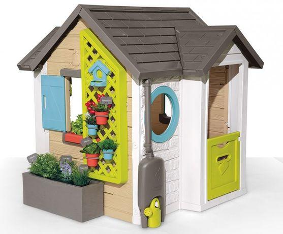 Игровой домик Садовый с аксессуарами Smoby Garden House 810405