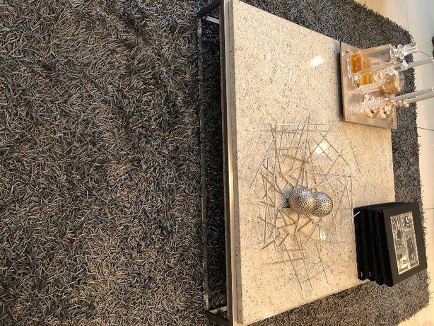 stolik granit na ramie z nierdzewki