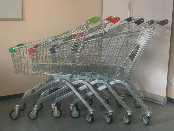 Тележка для супермаркета 60-240 литров . Візок для супермаркету.