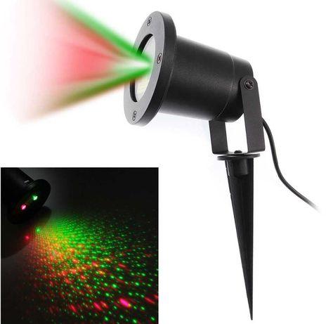 PROJEKTOR Laserowy zewnętrzny wodoodporny + PILOT