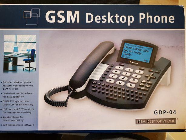 Telefon GSM stacjonarny Jablocom GDP-04A QWERTY LCD