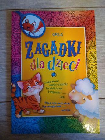 Nowa książka zagadki dla dzieci