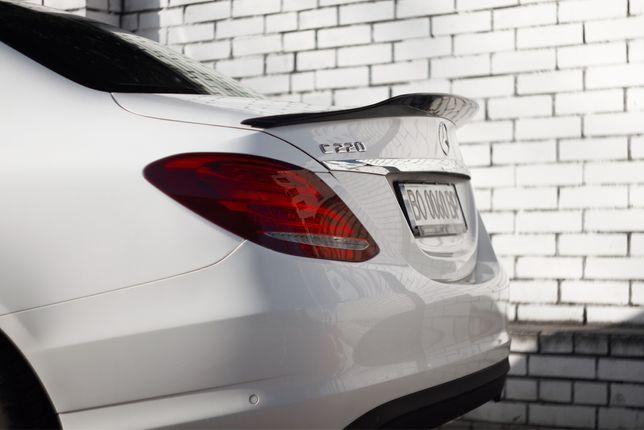 Карбоновый Спойлер Mercedes C-class w205 Carbon карбон
