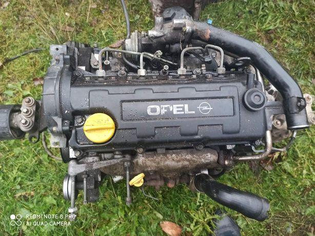 Мотор, коробка, турбіна, топлевна opel Astra G