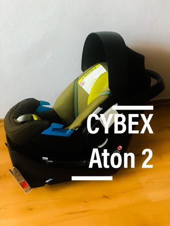 Fotelik CYBEX Aton + baza + lusterko