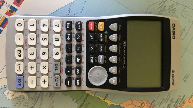 Máquina calculadora Casio gráfica com modo exame