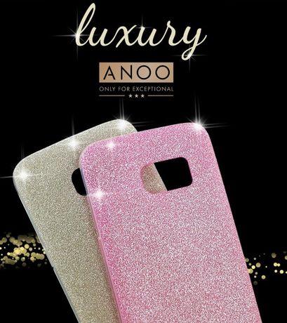 Etui Brokatowe Glitter Bling Samsung Galaxy S7 EDGE S8 S9 PLUS
