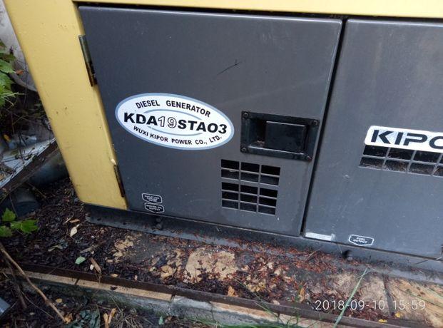 Электрогенератор дизельный KIPOR KDA 19 STAO3
