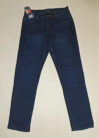 Мужские джинсы утепленные зимние на флисе