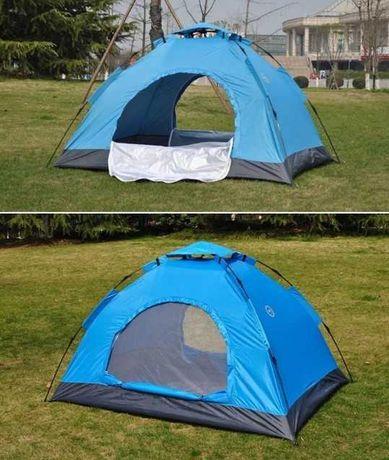 Палатка полусфера 4х местная автоматическая качественная, прошита