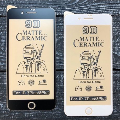 Керамическое стекло антишпион матовое iphone 6 7 8 x r 11 pro max plus