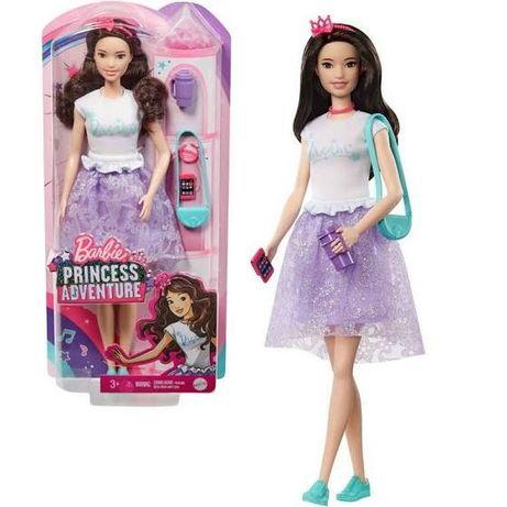 Barbie Brunetka Przygoda Księżniczki Gml68 Gml71