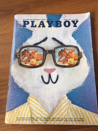 Playboy unikat 06.1967 USA zloty kruk, czasopismo