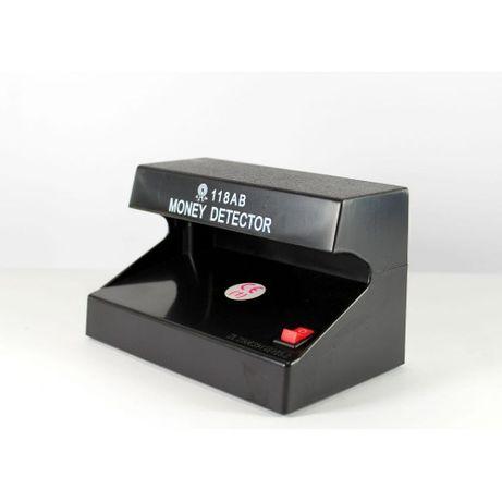 Детектор валют 101А 1С УФ лампа для грошей від батареєок нове 270 гр