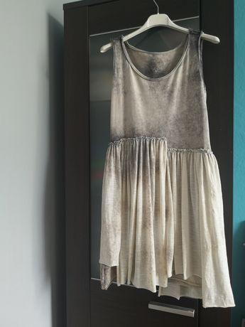 Letnia sukienka na naramkach