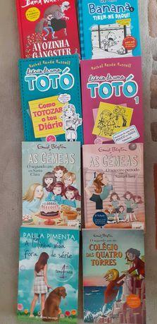 Livros histórias juvenis
